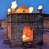 Atashgah fire temple, Azerbaijan