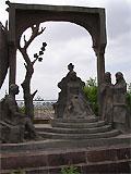 Фрагмент статуи Низами Ганджеви. Фото Гянджа